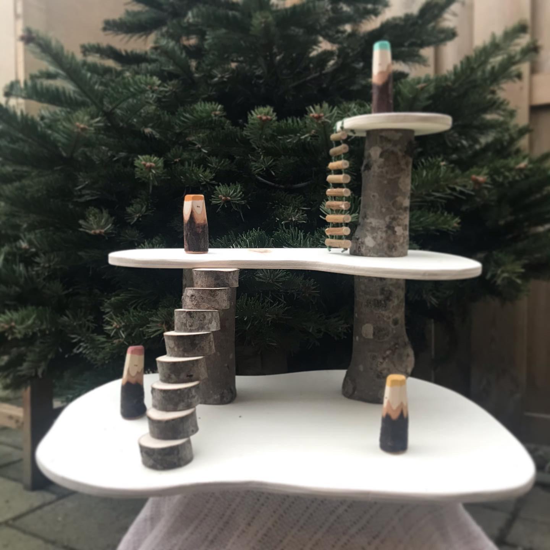 DIY: Houten poppetjes